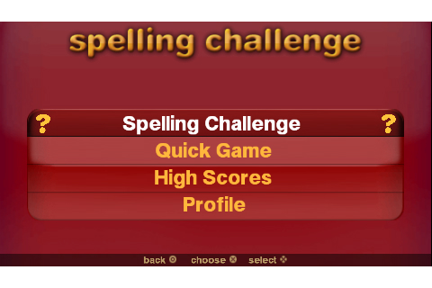 Spelling Challenge And More | Download Game PSP PPSSPP PS3 Free