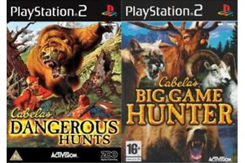 cabelas dangerous hunts & cabelas big game hunter PAL ...