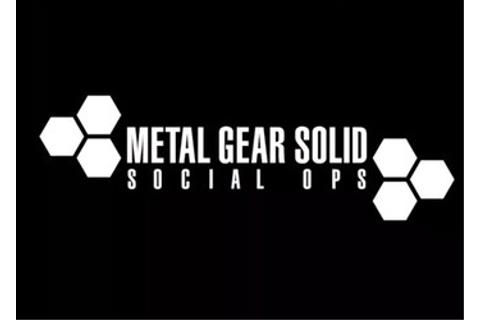 Metal Gear Solid: Social Ops - дата выхода, системные ...