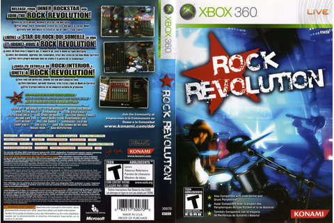 Games Covers: Rock Revolution - Xbox 360