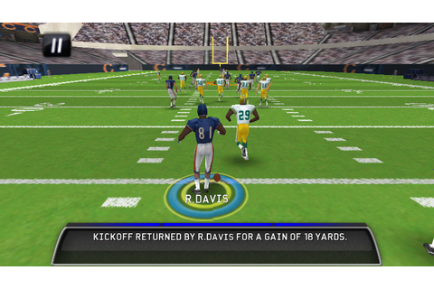 Madden NFL 11 in Game Play 3 - AndroidTapp