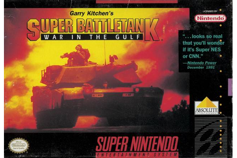 Super Battletank SNES Super Nintendo