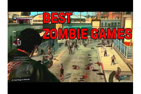Top 15: Best Zombie Video Games - YouTube