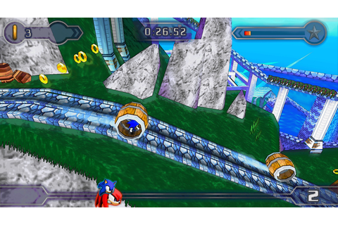 Download game Sonic Rivals 2 PSP for PC iso - Game Tegal