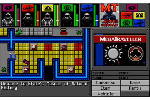 MegaTraveller 1: The Zhodani Conspiracy (1991) by Paragon ...