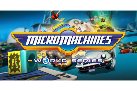 Recensione: Micro Machines World Series - Player.it