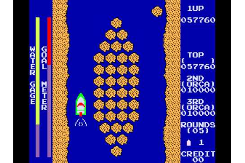 Arcade Game: River Patrol (1981 Orca) - YouTube