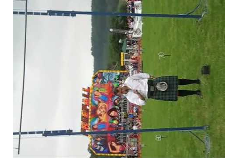 Highland Games Callander, Sebastian Wenta - YouTube