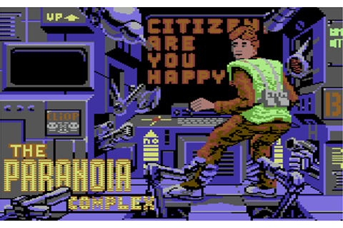 Download The Paranoia Complex (Amiga) - My Abandonware