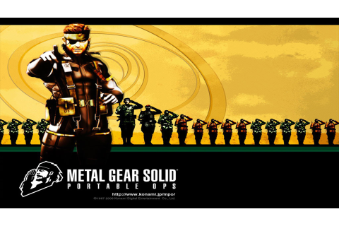 Metal Gear Solid: Portable Ops Details - LaunchBox Games ...