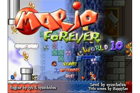Fangame Showcase #4 - Mario Forever: World 10 (Syzxchulun ...