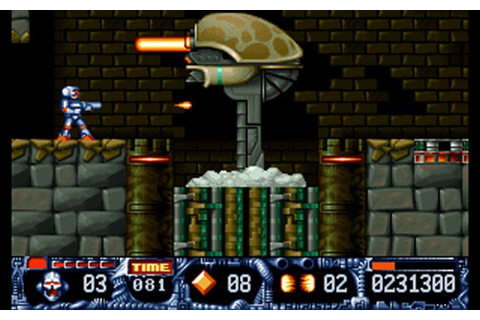 Game Turrican II - The Final Fight 3