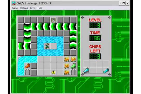 Let's Play Chips Challenge - 01 - A new thing is born ...