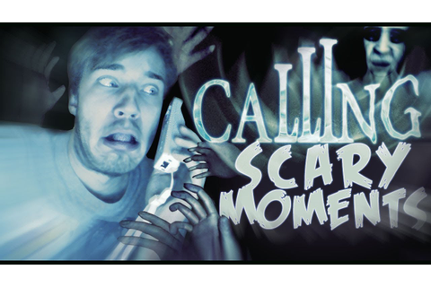 Calling (Wii) Scary Moments! (Funny Montage) - YouTube