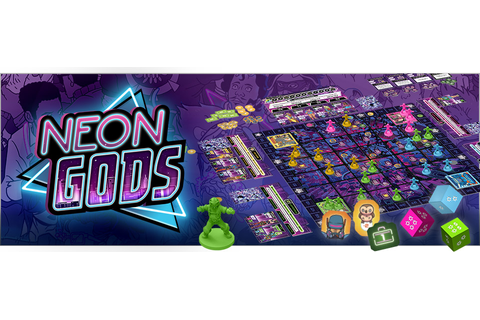 Neon Gods | Games | Plaid Hat Games