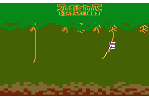 AtariAge - Atari 2600 Screenshots - Jungle Hunt (Atari)