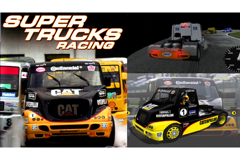 Super Trucks Racing Gameplay (2 Races) PS2 HD - YouTube