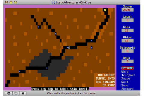 Download Lost Adventures of Kroz - My Abandonware