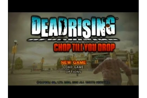 Dead Rising: Chop Till You Drop Playthrough - Part 1 - YouTube