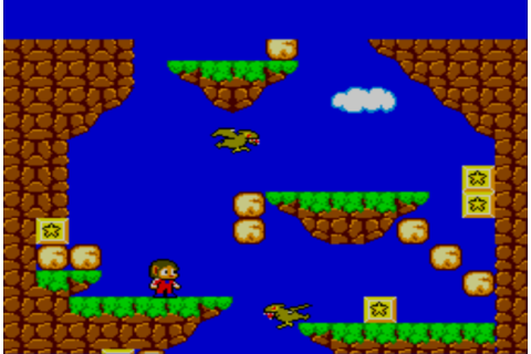 Video Vintage Game : Alex Kidd Miracle World