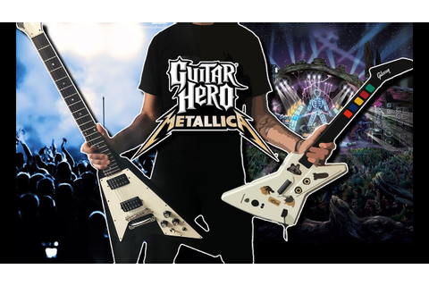 All Guitar Hero Metallica Riffs On A Real Guitar - YouTube