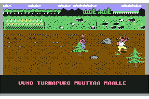 Download Uuno Turhapuro Muuttaa Maalle (Commodore 64) - My ...