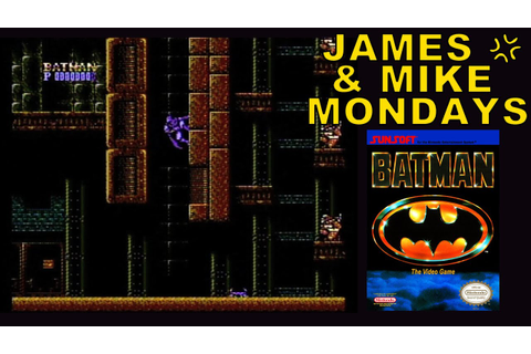 Batman: The Video Game (NES) Part 1 - James & Mike Mondays ...