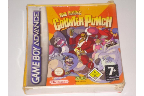 Wade Hixton's Counter Punch gameboy advance gb new rare | eBay