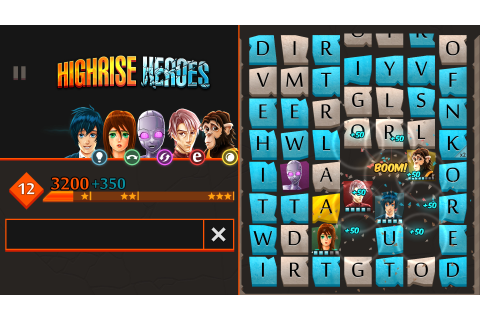 Download Highrise Heroes: Word Challenge Full PC Game