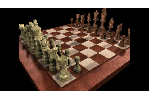 3D Chess Game App - YouTube