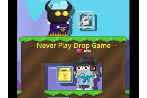 Growtopia - Never Play Drop Game - YouTube