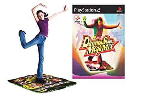 Dancing Stage MegaMix and Dance Mat Bundle (PS2): Amazon ...