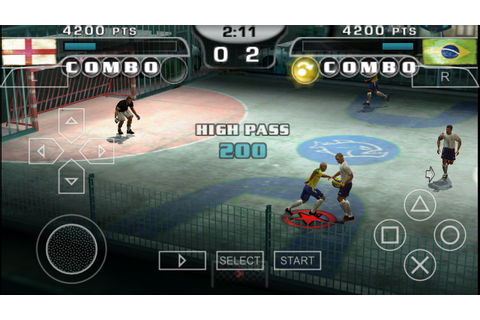 FIFA Street 2 PSP ISO Free Download & PPSSPP Setting ...