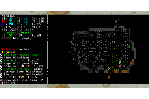 Roguelike Highlights: Caves Of Qud | Waltorious Writes ...