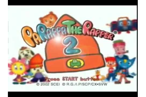 Parappa the Rapper 2 Game Intro: Extended Version - YouTube