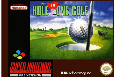SNES A Day 12: HAL's Hole in One Golf - SNES A Day
