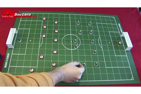 Soccero Board Game Video Review - YouTube