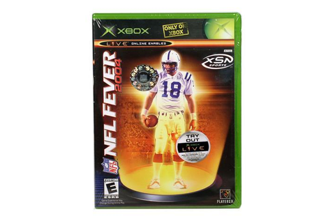 NFL Fever 2004 XBOX game Microsoft - Newegg.com