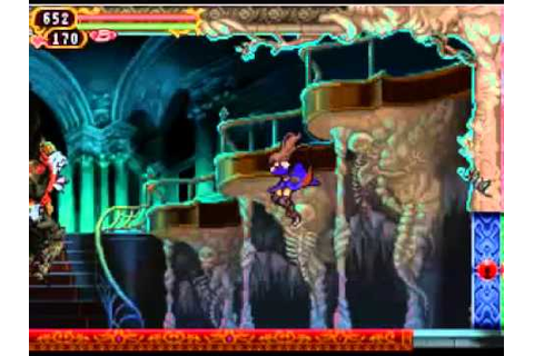 Castlevania Order of Ecclesia - Vs Dracula (Shanoa) - YouTube