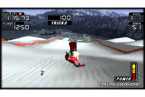 Cool boarders 3- PS1- Gameplay - YouTube