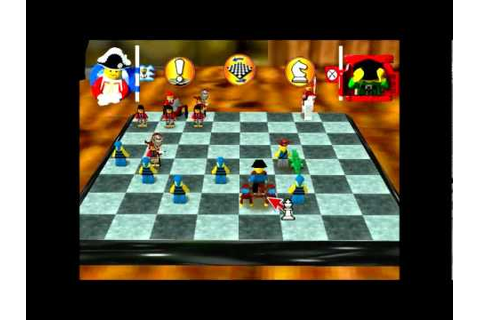 PC Gameplay - Lego Chess - YouTube