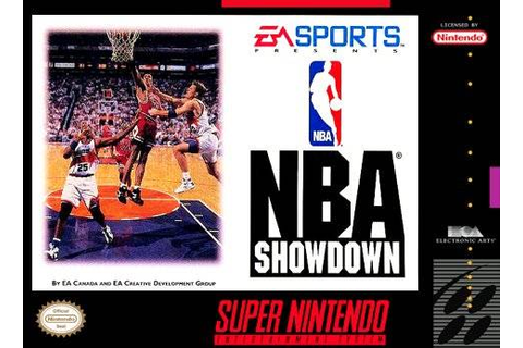 NBA Showdown SNES Super Nintendo