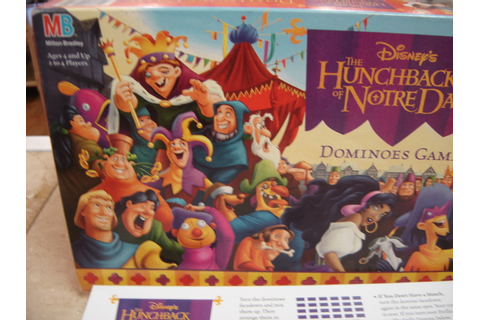 Disney The Hunchback of Notre Dame Dominoes Game Complete ...