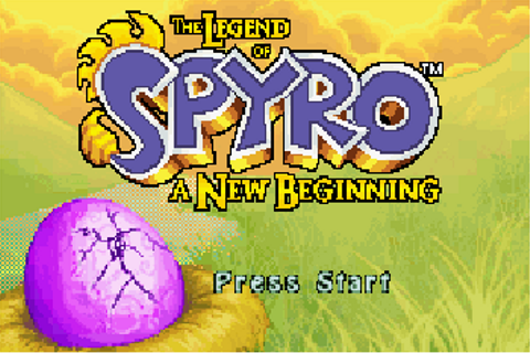 Legend of Spyro The A New Beginning - Symbian game. Legend ...