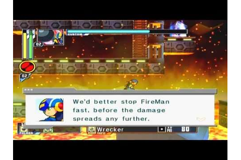 Mega Man Network Transmission Game Sample - GameCube - YouTube