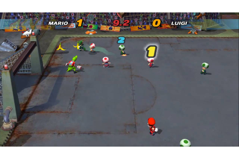 Mario Smash Football - Dolphin SVN 7409 [2 Player] - YouTube