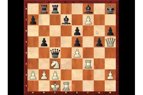 Hou Yifan's Tactical Brilliancy - Grandmaster Chess Games ...