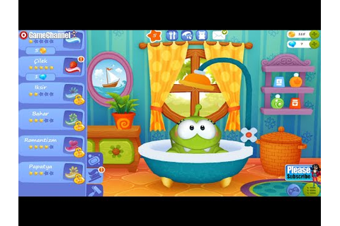 My Om Nom Android - İos - İphone - İpad Free Game GAMEPLAY ...