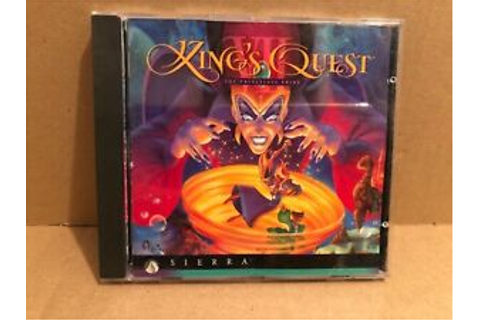 King's Quest VII: The Princeless Bride - PC CD Game 1994 ...