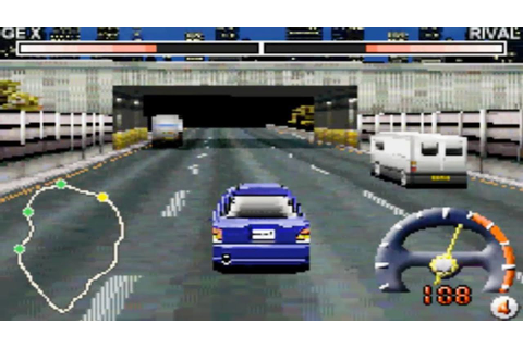 Tokyo Xtreme Racer Advance (Gameboy Advance Gameplay ...